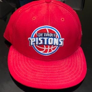 Detroit Pistons fitted hat